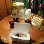 wine and truffles awaiting us:)