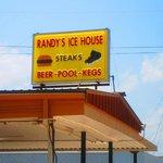 Randy's Ice House Sign