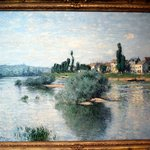 Dallas Museum Of Art - Claude Monet - The Seine At Lavacourt