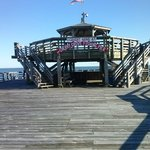 The Cherry Grover Fishing Pier is connected to teh resort.