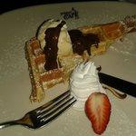 Belgian waffles.. yum!