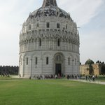 The Baptistery of Pisa