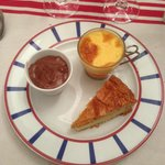 Assiette de desserts Basques