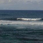 Ho'okipa Beach- near Kaua- we watched the surfers for awhile