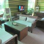 Ground floor lounge area