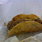 Kalua pork taco