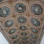The Swan Room (Sala dos Cisnes), named for the 27 swans painted on the ceiling