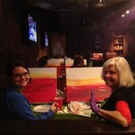 Fun Atmosphere for Paint Nite