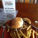 Mira flower burger