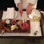 Charcuterie Spread from Rooom Service...Delicious!