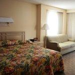 Deluxe Ocean View Room: King bed & sleeper sofa