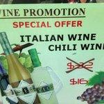 'Chili' - Wein Angebot