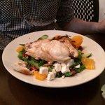 Chicken and feta salad