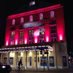 The Old Vic at night