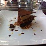 Dessert au chocolat .