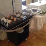 Charriot de fromage - brunch