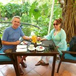 Great breakfast at the Anantara Hua Hin !