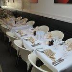 Ook gereserveerde feesttafel