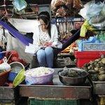 au marché central Phnom Penh