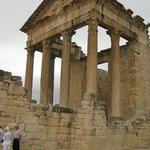 非常に保存のいい巨大な神殿