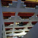 Blick vom 6.Stock nach unten