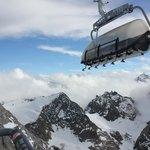 Ice flier airlift