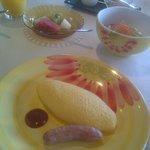 Breakfast at Orange Bay Hotel, Obama, Japan