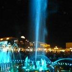 music fountain soho  square