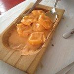 Canestrini ai quattro formaggi