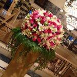 Les fleurs de la réception