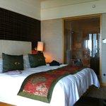 room 20th floor- bathroom with glaswall