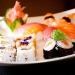 Assortiment de Sushi, Maki et Californien