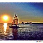 Sunset Key, sunset sailboat cruises and good night Mr Sunshine... Time to party on Duval St!