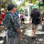 Walking tour. Best way to see Old San Juan.