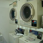 Washing machines and dryer at 100yen 30 min