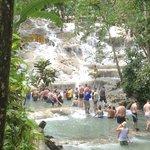 Dunn River Falls , Ocho Rios , Jamaika