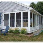 3 season porch of a Contemporary Cottage