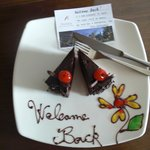 Welcome cake