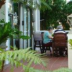 Family room patio