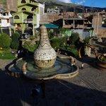 El principal monumento a la alfarería Huancaína