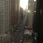 Looking downtown at 6th Ave from room 1917