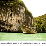 Private Island Tour with Andaman Camp and Cruise