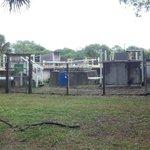 The camp sewage plant
