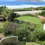 Blick aus dem Fenster der Beachy Head Villa