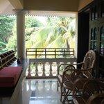 our nice balcony