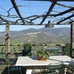 veranda per mangiare all'aperto o godersi il panorama