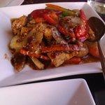 Pad Nam Prik Pao..delicious!