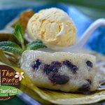 Khao Tom Mut & Vanilla ice cream