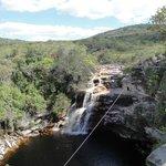 Segunda cachoeira no Mucugezinho