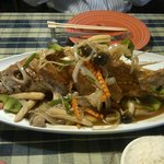 Pla Jean (deep fried whole red snapper)